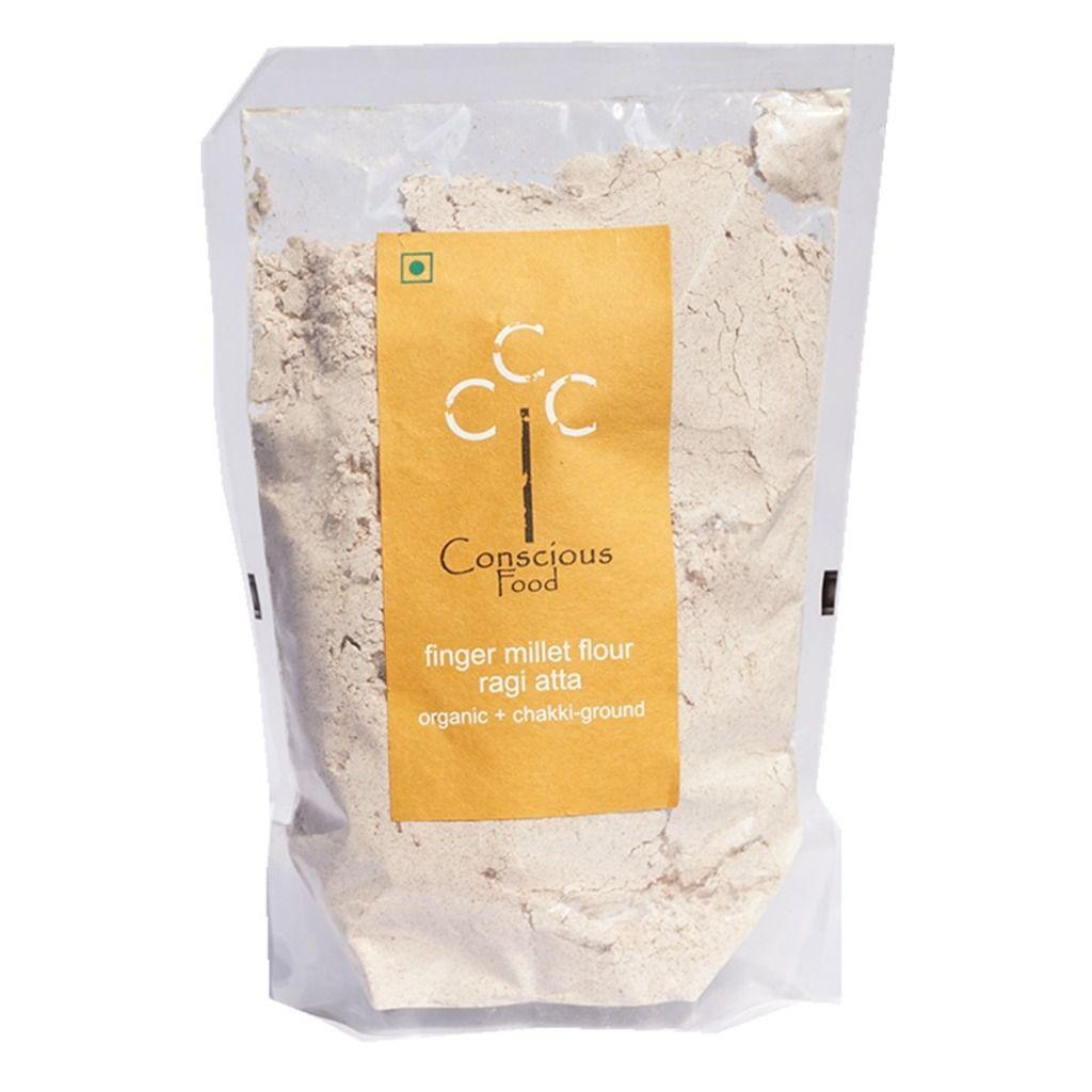 Conscious Food Finger Millet Flour (Ragi Atta)