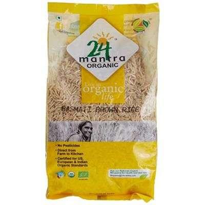 24 Mantra Organic Basmati Rice Premium Brown