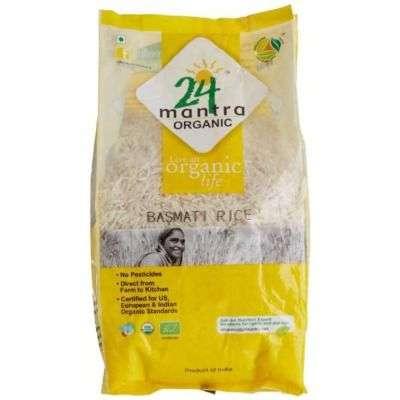 24 Mantra Organic Basmati Rice Premium Polished