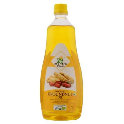 Buy 24 Mantra Organic Cold / Expeller Pressed Groundnut Oil