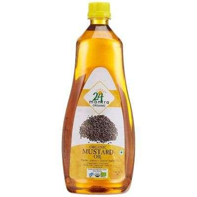 Buy 24 Mantra Organic Premium Mustard Oil