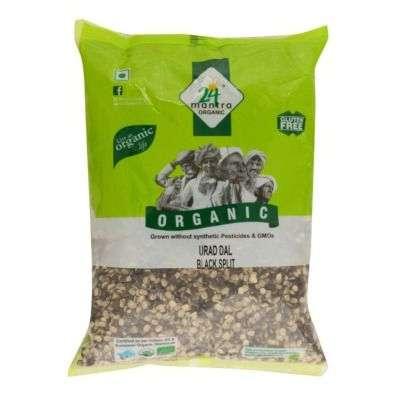 Buy 24 Mantra Organic Urad Dal Black Split