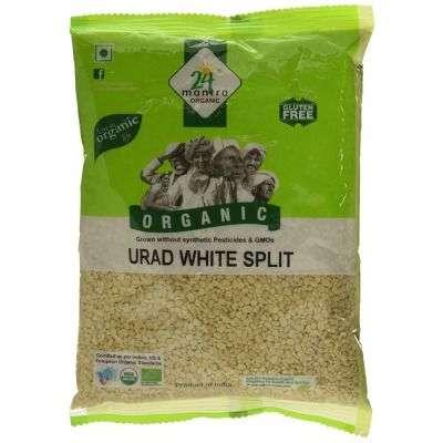 Buy 24 Mantra Organic Urad Dal White Split