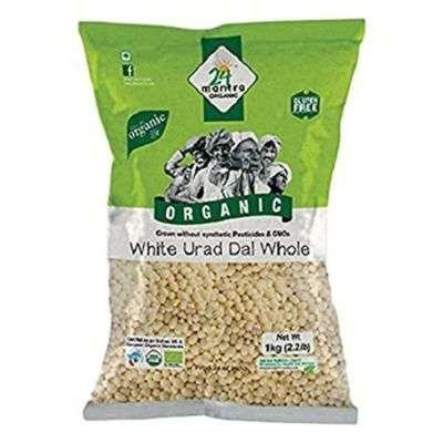 Buy 24 Mantra Organic Urad Dal White Whole