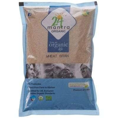 Buy 24 Mantra Organic Wheat Bran