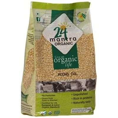 24 Mantra Organic Yellow Moong Dal