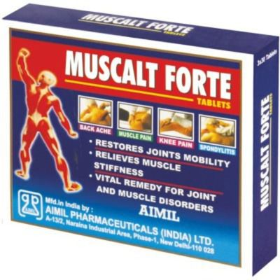 Aimil Pharmaceutical Muscalt Forte Tablets