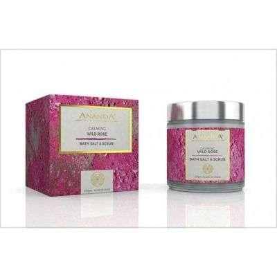 Buy Anandaspa Calming Body Scrub - wild Rose