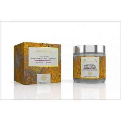 Buy Anandaspa Grounding Scrub - Rose, Sandalwood And Vetiver