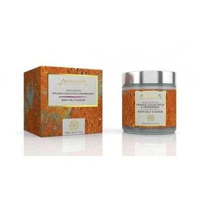 Buy Anandaspa Invigorating Scrub - Orange, Eucalyptus And Peppermint