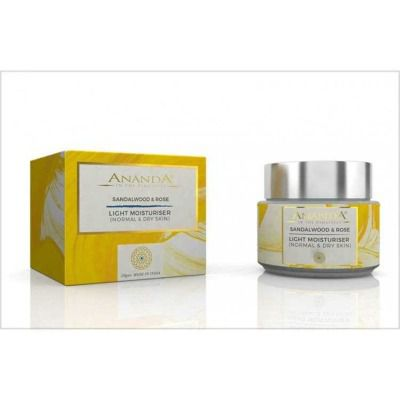 Buy Anandaspa Light Moisturiser (normal And Dry Skin) - sandalwood And Rose