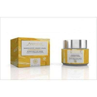 Buy Anandaspa Purifying Clay Mask (oily And Combination Skin) - sandalwood, Turmeric And Basil