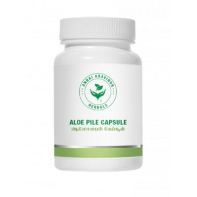Annai Aravindh Herbals Aloe Pile Capsules