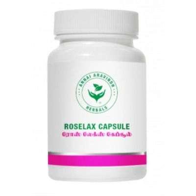 Annai Aravindh Herbals Roselax Capsules
