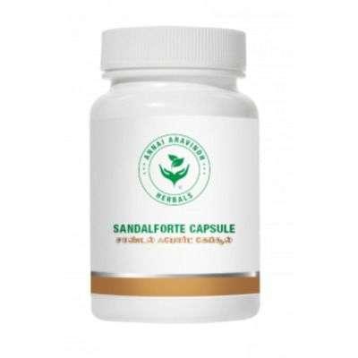 Annai Aravindh Herbals Sandal Forte Capsules