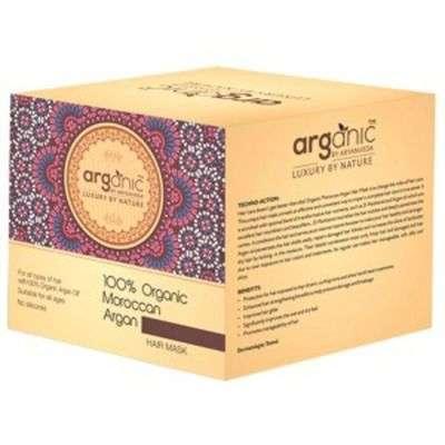 Buy Arganic by Aryanveda 100% Organic Moroccan Argan Hair Mask