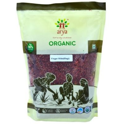 Buy Arya Farm Organic Finger Millet [Ragi] Whole