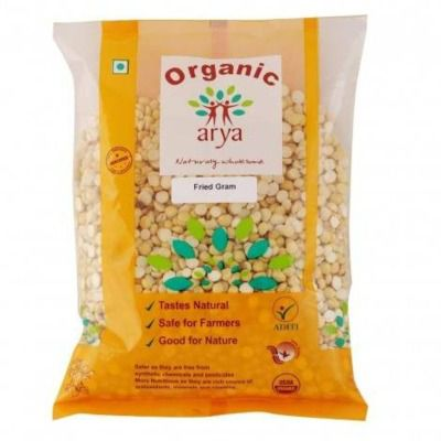 Arya Farm Organic Fried Gram (Chana)