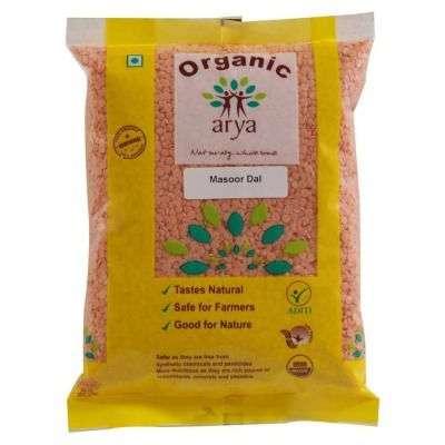 Arya Farm Organic Masoor Dal