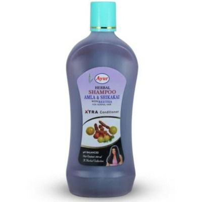 Buy Ayur Amla Shikakai With Reetha Shampoo