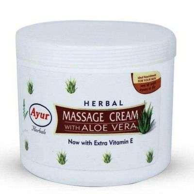 Buy Ayur Herbal Massage Cream With Aloe Vera