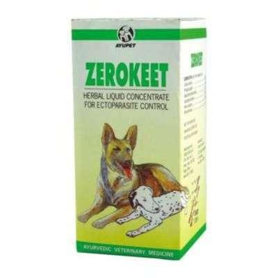 Buy Ayurvet Zerokeet Herbal Skin Liquid