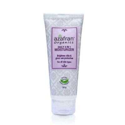 Buy Azafran Organics Daily 3 - in - 1 Moisturizer