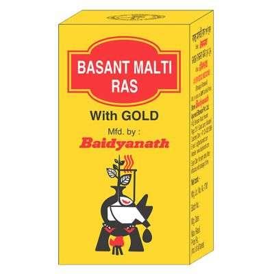 Baidyanath Basant Malti Ras ( Swarna Moti Yukta )