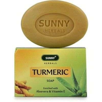 Bakson's Sunny Turmeric Soap with Aloevera and Vitamin E