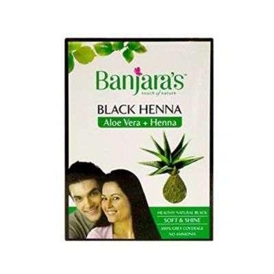 Banjaras Aloe Vera Henna - Black