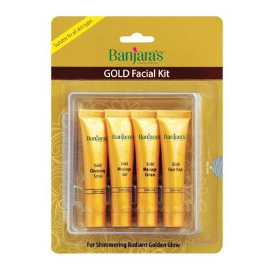 Banjaras Gold Facial Kit