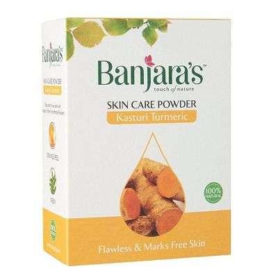 Buy Banjaras Kasturi Turmeric Skin Care Powder