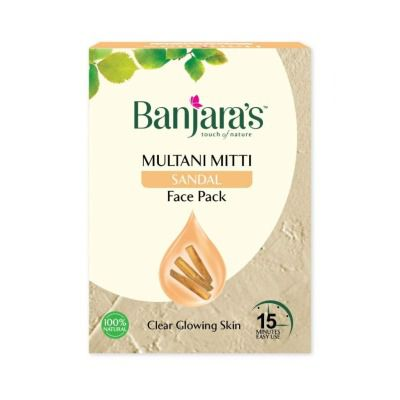 Banjaras Multani with Sandal Face Pack Powder