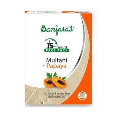 Banjaras Papaya Multani Face Pack Powder