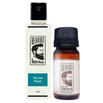 Buy Beardo The Irish Royale Beard Oil & Beard Wash Combo