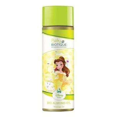 Buy Biotique Bio Almond Disney Princess Massage Oil