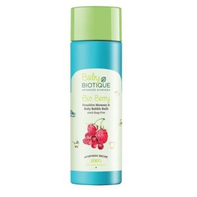 Buy Biotique Bio Berry Mommy and Baby Bubble Bath