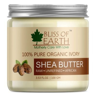 Buy Bliss of Earth 100% Pure Organic African Shea Butter