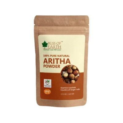 Buy Bliss of Earth Reetha (Aritha) Powder