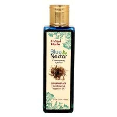 Buy Blue Nectar Briganantadi Hair Repair & Treatment Oil