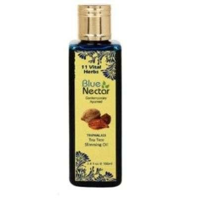 Buy Blue Nectar Triphaladi Tea Tree Slimming Oil