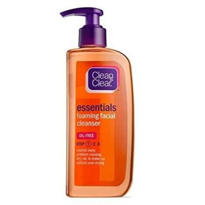 Buy Clean Clear Essentials Foaming Facial Cleanser Oil Free
