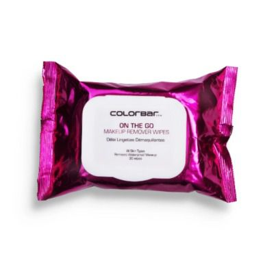 Buy Colorbar On The Go Makeup Remover Wipes