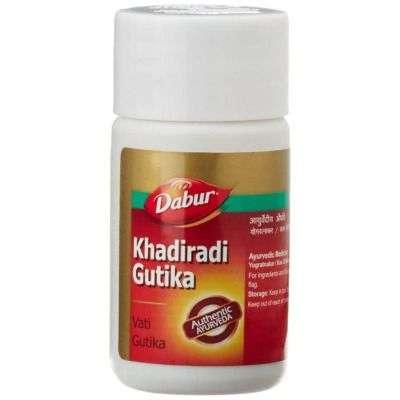 Buy Dabur Khadiradi Gutika