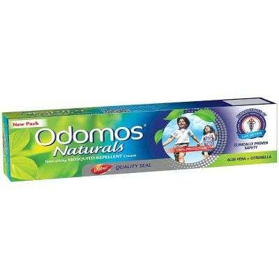 Buy Dabur Odomos Naturals Non-Sticky Mosquito Repellent Cream