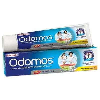 Buy Dabur Odomos Non - Sticky Mosquito Repellent Cream