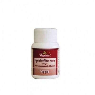 Buy Dhootapapeshwar Suvarnamakshik Bhasma