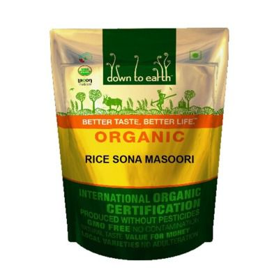 Buy Down to Earth Rice Sona Masoori