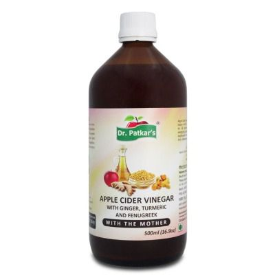 Buy Dr Patkars Apple Cider Vinegar with Ginger, Turmeric and Fenugreek