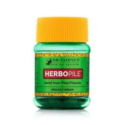 Buy Dr. Vaidya's Herbopile Ayurvedic Pills